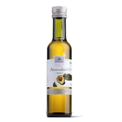 OLEJ Z MIĄŻSZU AVOCADO VIRGIN BIO 250 ml