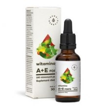 Witamina A+E krople, 30ml